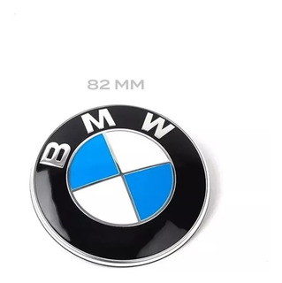Insignia Emblema Bmw Capot 82 Mm E46 E90 E92 X Etc Original