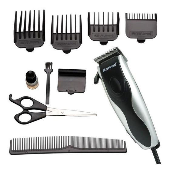 Máquina Elétrica Am Cortar Cabelo Aparar Barba Pezinho 110v