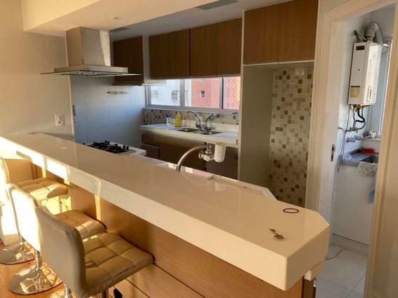Apartamento De 3 Quartos, 3 Banheiros, Sala, Cozinha E Área
