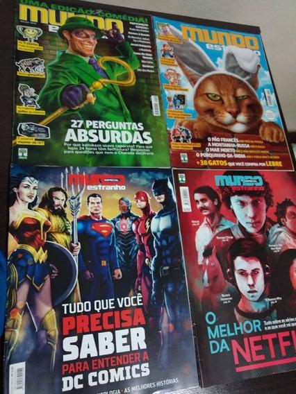 Revistas Mundo Estranho Lote Com 10 A Escolha