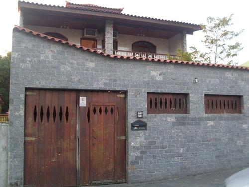 Casa Com 6 Dormitórios À Venda, 364 M² Por R$ 1.150.000,00 - Vila Valqueire - Rio De Janeiro/rj - Ca0002