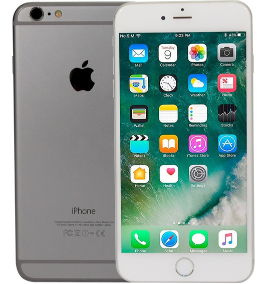 Celular Apple iPhone 6 Plus 64gb Dual Core Ios A8 Open Box