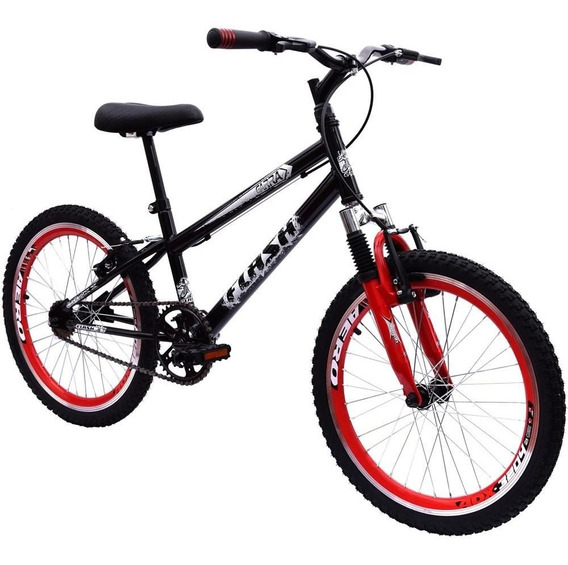 Bicicleta Aro 20 Ultra Cross Bmx Suspensão V-break Pt Giant