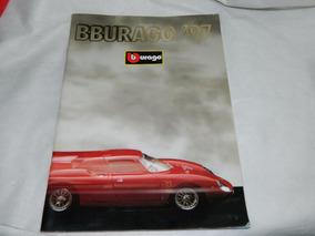 Catálogo Miniaturas Burago Ano 1997 Raro