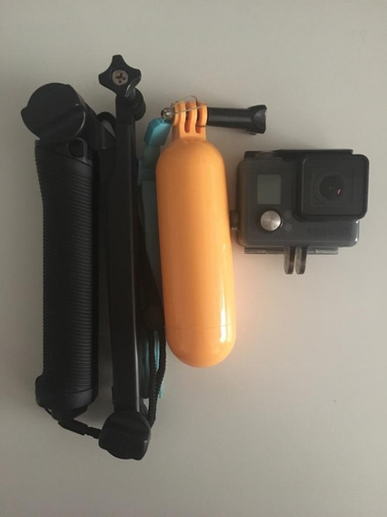 Câmera Filmadora Gopro Hero Plus 8mp Fullhd + Boia + 3 Way