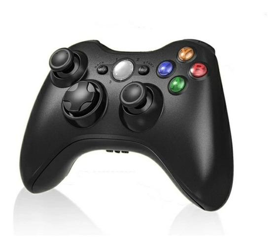 Controle Sem Fio Xbox 360 + Brinde Bateria Recarregável