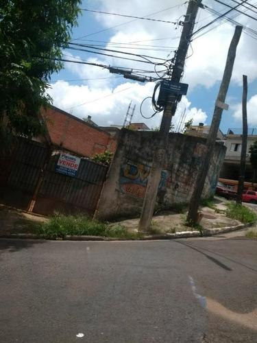 Imagem 1 de 14 de Terreno À Venda, 340 M² Por R$ 450.000,00 - Jardim Etelvina - São Paulo/sp - Te0328