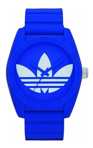 constante Escudriñar viudo  Reloj adidas Adh6169 Santiago Azul Unisex 100%original Wr50m | Mercado Libre