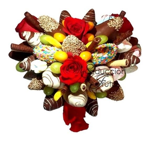 Arreglos De Flores Y Chocolates Comestibles Mercado