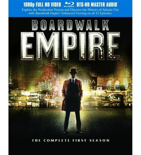 Blu-ray: Boardwalk Empire: O Império Do Contrabando  1 Temp