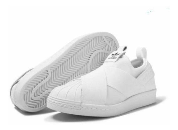 Tênis Slip On Superstar Branco