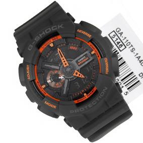 Relógio Casio Gshock Ga110ts-1a4 Original Estados Unidos