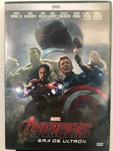 Avengers. Era De Ultrón. Dvd Nuevo Sellado