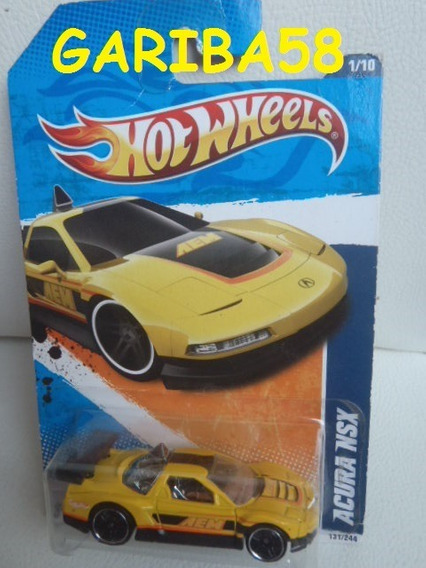 R$18 No Lote Hot Wheels Acura Nsx 2011 Performance Gariba58