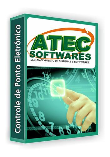 Imagem 1 de 7 de Software De Tratamento Ponto Atecsoft Licença Definitiva