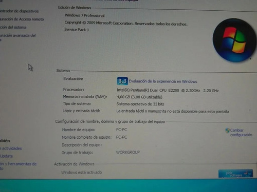 Cpu Intel Pentium E2200 2.20ghz Pc