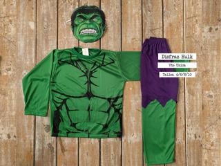 Día Del Niño! Disfraz Infantil Hulk Personajes