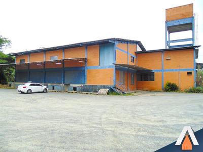 Acrc Imóveis - Galpão Com 600 M² De Área Construída - Gl00135 - 33759923