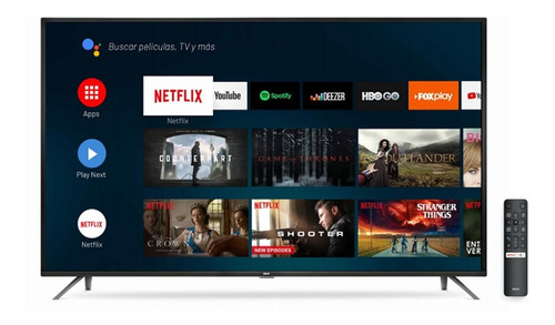 Smart Tv 55'' 4k Rca X55andtv Android Tv 3840×2160 Tm