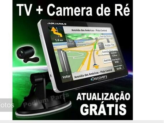 Gps Automotivo 4.3 Tv Digital 3d Radar Camera Ré Discovery
