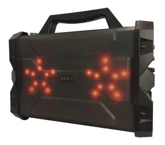 Caixa De Som Bluetooth Com Microfone Mp3 Player Radio Fm 556