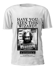Camiseta Harry Potter Poster Sirius Black Have You Seen...