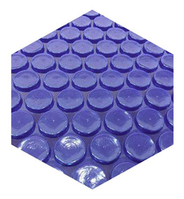 Capa Térmica Para Piscina Thermocap Azul 6x6 Metros