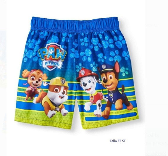 Shorts Paw Patrol De Niños Originales
