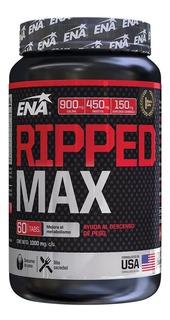 Quemador Grasa Ena Ripped Max + Carnitina + Colina 60 Tabs