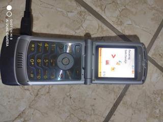 Celular Motorola V3 Cinza Novo +acessórios Bateria Viciada
