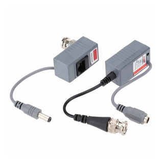 Cctv Video Balun 2 En 1 Rj45 Flexmicro