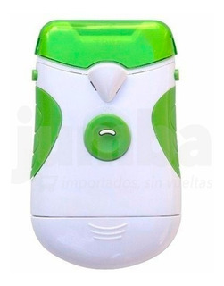 Corta Uñas Lima Eléctrico Automático Seguro Color Verde