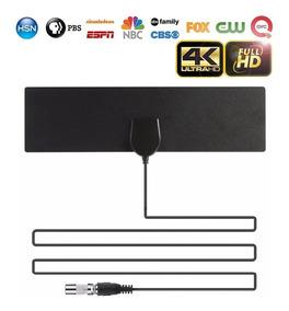 4k 25db Alto Ganho Hd Tv Dtv Caixa Antena Tv Digital 50 Mile