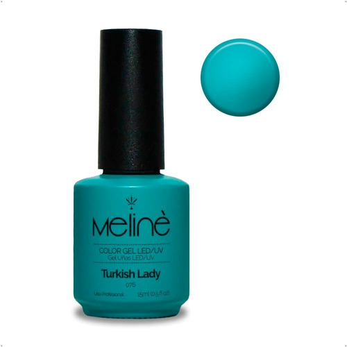 Imagen 1 de 3 de Esmalte Meline Nuevos Colores Gel Uv/led  Semip. X 15 Ml