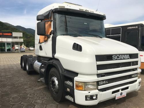 Scania T124 La 6x2 Na 400