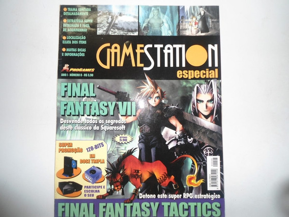 Revista Gamestation Especial Final Fantasy 7