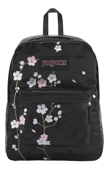 Mochila Jansport Super Fx Con Flores