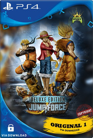 Jump Force Ps4 Cod 1 Psn | Edição Deluxe | Ps4 1 | Promoção