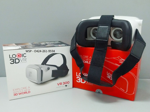 Lentes Vr Realidad Virtual 3d Logic A20
