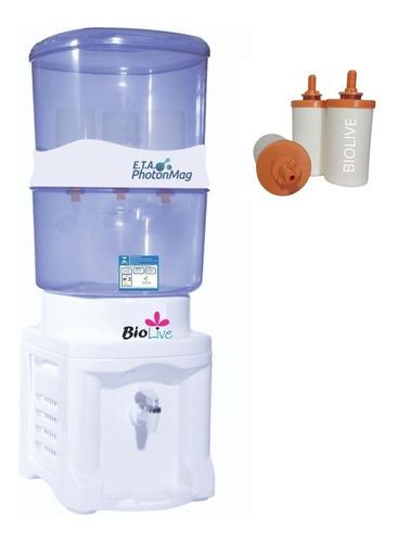 Filtro Purificador - Agua Alcalina  + Kit Adaptador Com Base