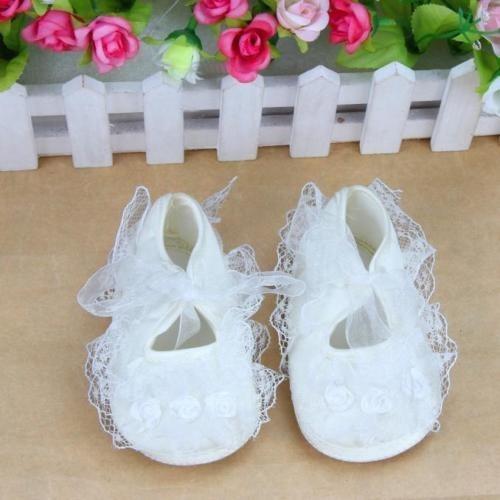 Calçados Para Bebês Meninas Pré-walker Flores Rosa Sapatos N