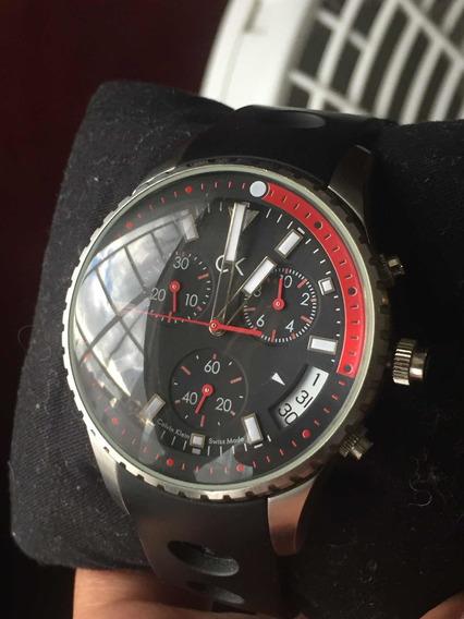 Reloj Calvin Klein De Acero Modelo K32174 Envió Gratis