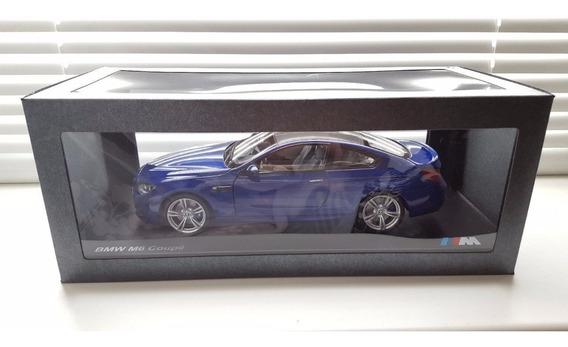 1:18 Paragon Models Bmw M6 Azul Na Caixa E Base