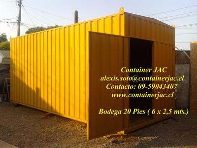 Container Jac ( Bodegas , Oficinas, Baños, Casinos, Etc.)