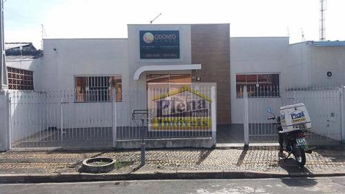 Sala Comercial Para Locação, Parque Franceschini, Sumaré. - Sa0141