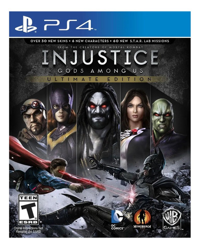 Imagen 1 de 4 de Injustice: Gods Among Us Ultimate Edition Warner Bros. PS4 Digital