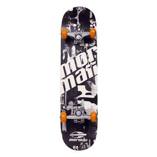 Skate Chill Abec-5 Cinza Mormaii