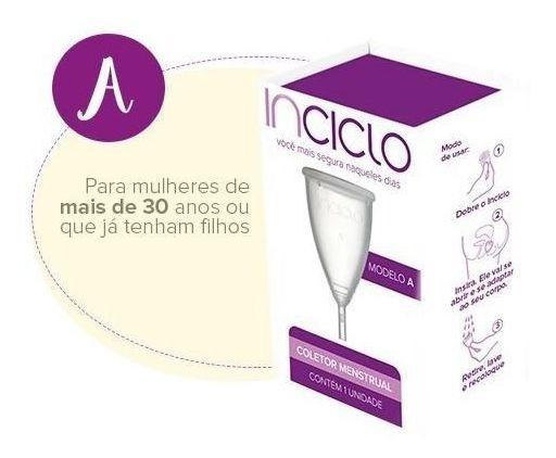 Coletor Menstrual Inciclo Modelo A