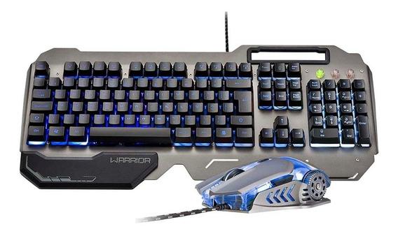 Combo Teclado E Mouse Gamer Warrior - Tc223