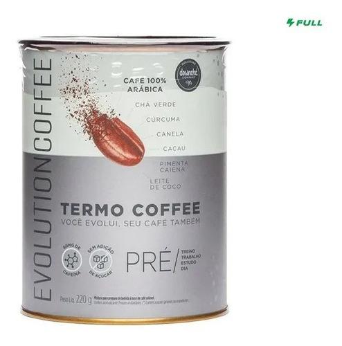Imagem 1 de 7 de Evolution Thermo Coffe 220g Café Termogênico - Desinchá